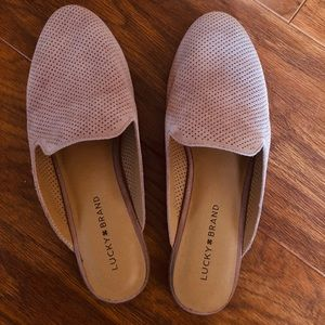 Lucky Brand   Perforated Mule